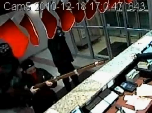 Tiny Robbers Attempt Hotel Heist with Giant Musket (Updated)