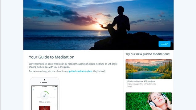 Lift's Guide to Meditation Is a Data-Driven Introduction for Beginners