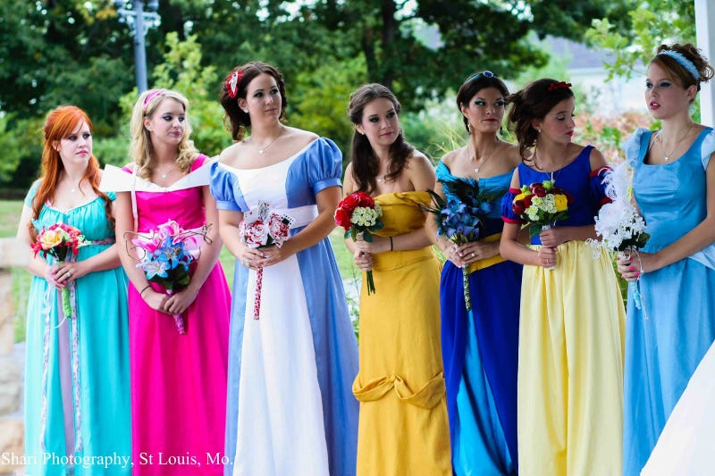 This is the most impressive Disney Princess wedding we've ever seen