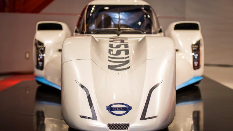 Nissan ZEOD RC Hits The Track At Fuji