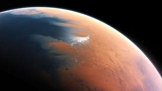 Prueban que Marte tuvo un océano de agua líquida como los de la Tierra