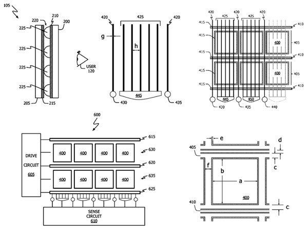 Apple Applies For Another Force Sensitive Touchscreen Patent