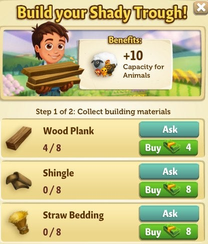 FarmVille 2 Shady Trough Quests: Everything You Need to Know