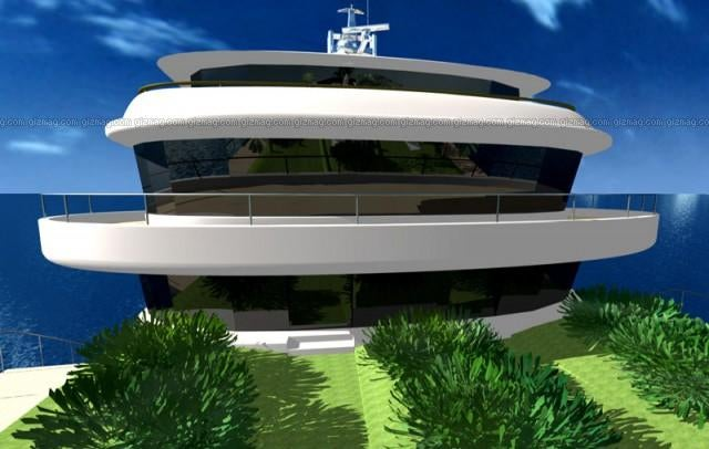 Gigayacht Actually More Like a Freaking Personal Floating Island