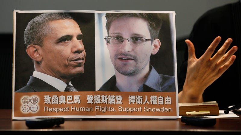 Snowden: No Higher Honor Than Being Called a Traitor by Dick Cheney