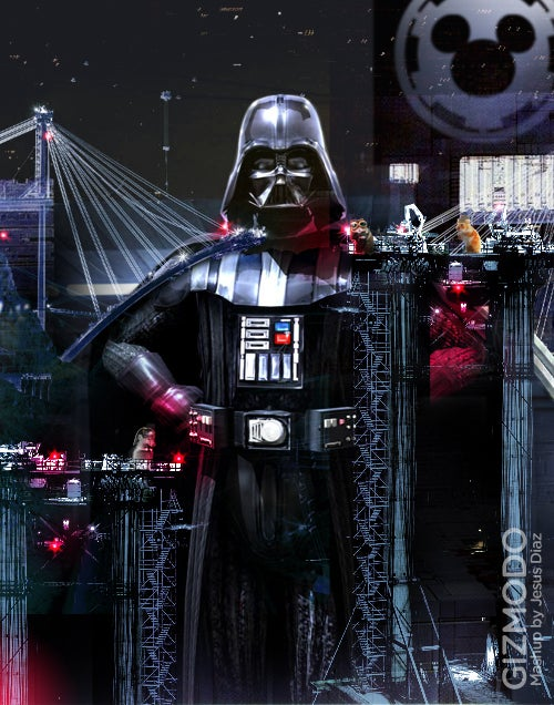 What If Darth Vader Were a Robot Operated by Evil Hamsters?