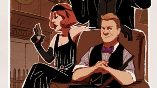 Boardwalk Empire meets the Avengers in Prohibition-Era S.H.I.E.L.D. illustrations