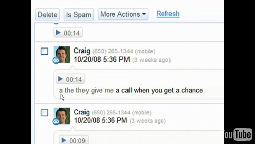 Google Voice Emerges from GrandCentral, Transcribes Voicemail