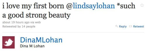 More Lohan Family Drama On Twitter