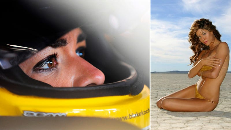 Supermodel Maryeve Dufault Joins NASCAR