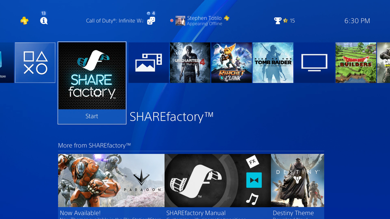 You Can Now Make GIFs On The PS4