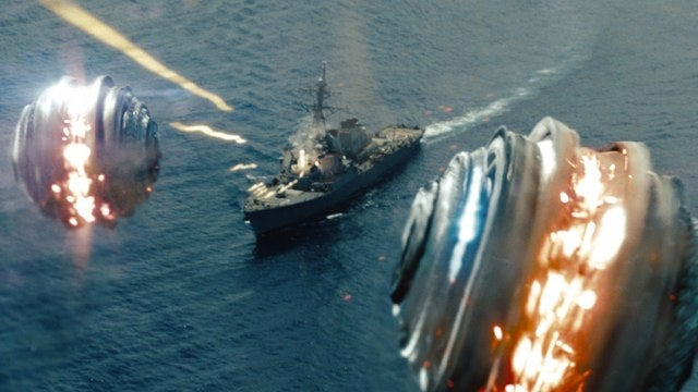 First clip from Battleship shows off the aliens' board game-inspired firepower