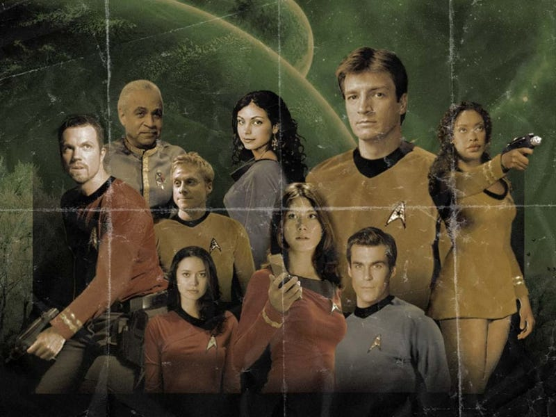 What's The Ultimate Television Starship Crew Dream Team?