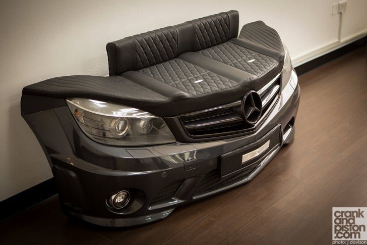 AMG Seat. Sofa King Cool. Automotive Furniture