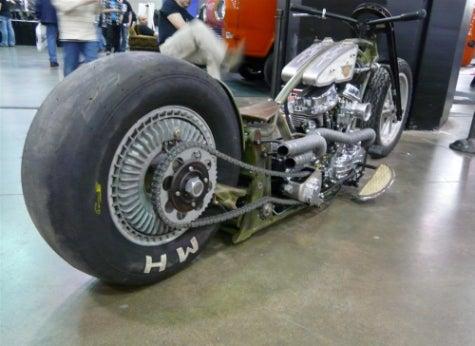 Newstalgia Wheels' Steampunk Chopper