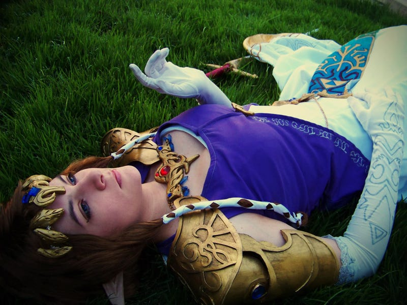 Well, Excuse Me, Princess Zelda Cosplay