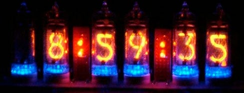 Nixie Tube Clock Kit Lets You Go Retro