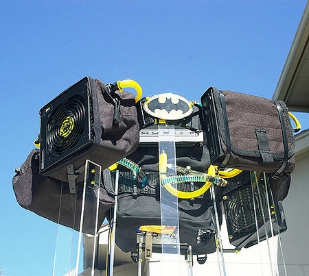 Batman Doesn't Need These PC Case Mods for his Batcave Supercomputer. They're For the Rest of Us.
