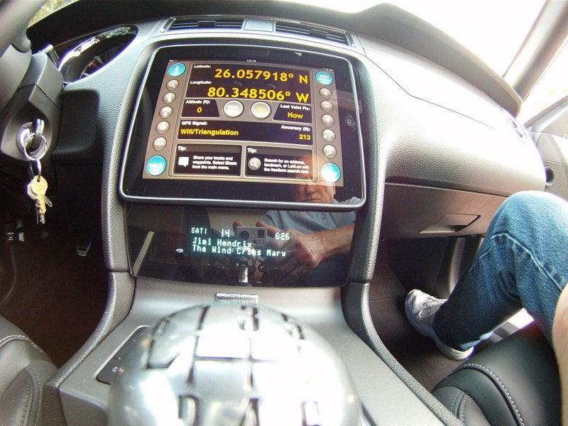 iPad Mustang