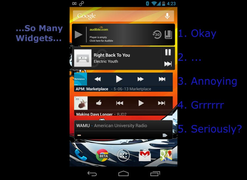 Android Widgets: A Blessing and a Curse