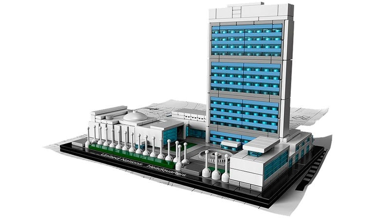 Lego United Nations HQ seems way more functional than the real one