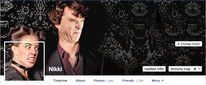 This Girl's Facebook Cover Photos Are Just Fantastic