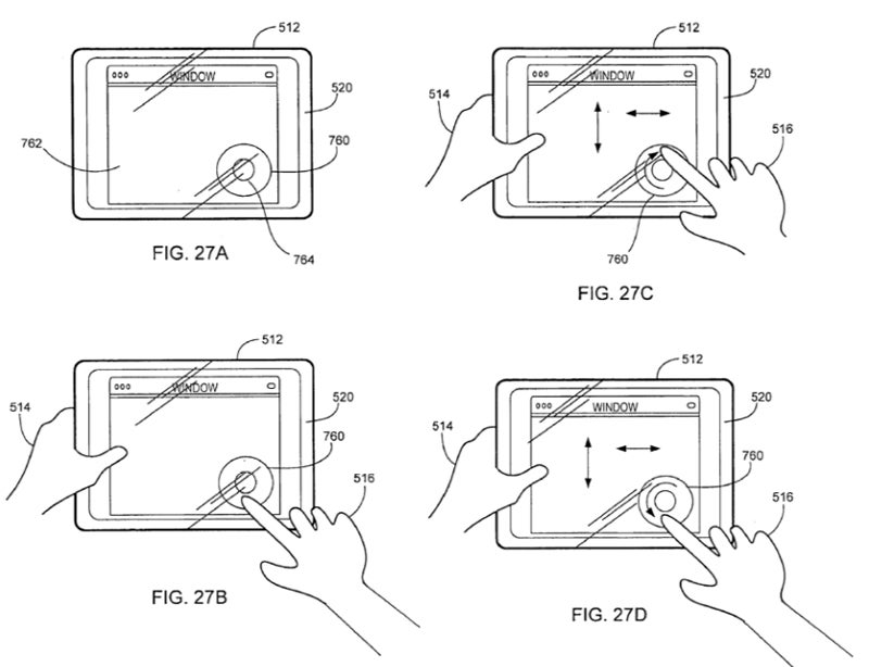 Leaked Apple Patent Filing is Full of New Multitouch Tech For a Mac Tablet
