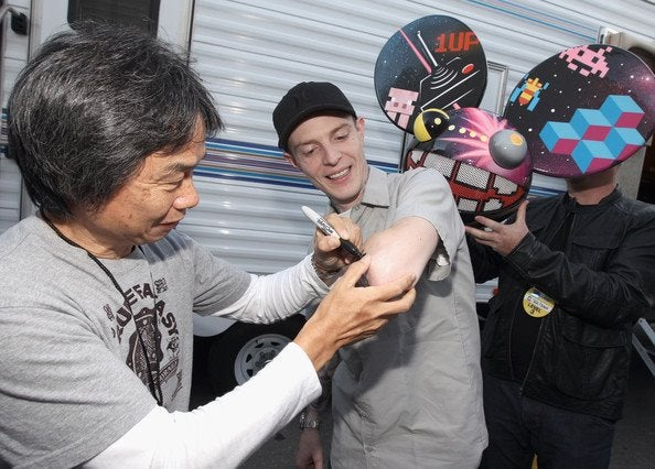 We're Pretty Sure Deadmau5 Actually Got a Shigeru Miyamoto Tattoo