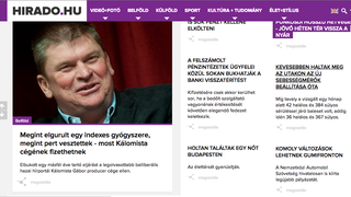 Vezető anyagban gyalázza az Indexet a közszolgálati tévé weboldala
