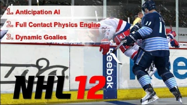 Hockey Stars' Brains and Brawn Matter More in NHL 12
