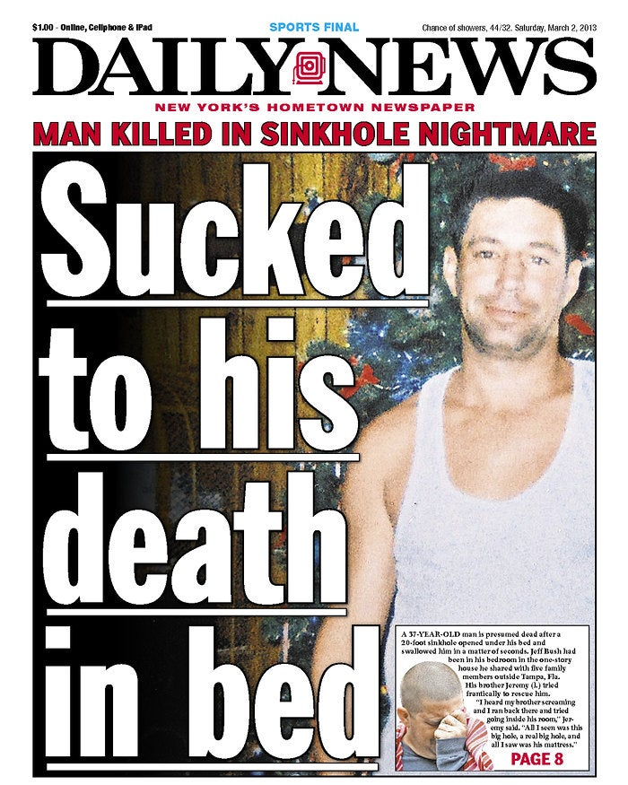 The Daily News Had to Have Known This Cover Was in Terrible Taste