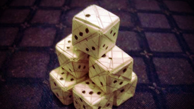 Make Your Own Six-Sided Dice Out of Paper