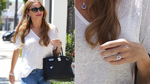 Sofia Vergara's Engagement Ring Is Not An Engagement Ring, It's Better