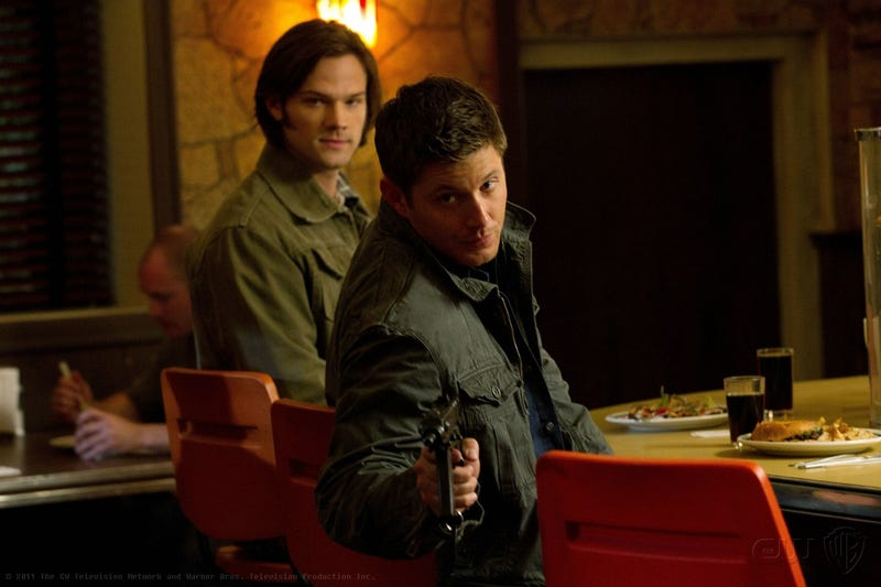 "Supernatural 7x7 ""Slash Fiction"" images"