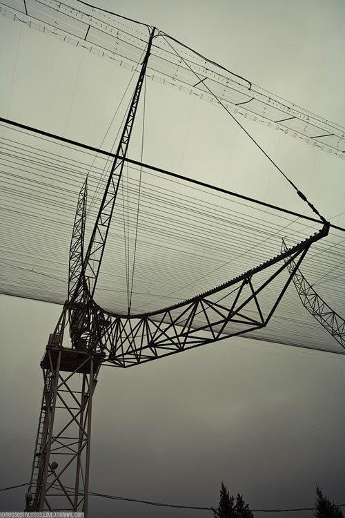 Hulking Russian Radiotelescopes