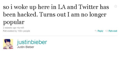 Today's Celebrity Twitter Chatter: The Day the Celebrities Lost it All