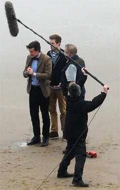 Doctor Who Filming Gallery