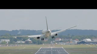 Navy Pilots Give This Crosswind The Middle Finger