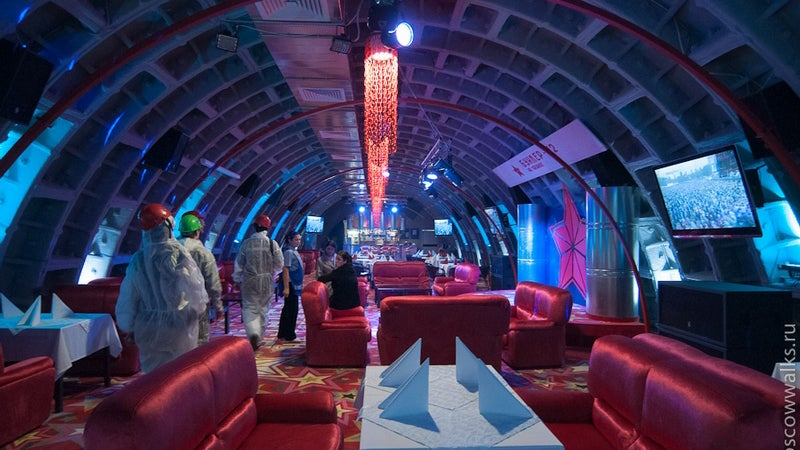 This Soviet Bunker Looks Like a Buried Alien Spaceship... with a Strip Club