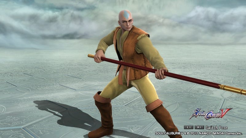 Futurama, Street Fighter and Last Airbender Leap onto SoulCalibur V's Stage of History