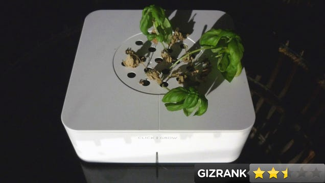 click grow lightning review the hands off hydroponic garden. Black Bedroom Furniture Sets. Home Design Ideas