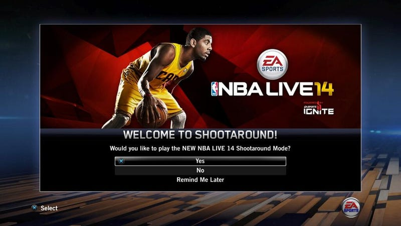 NBA Live 14's Latest Patch is Talkin' About Practice