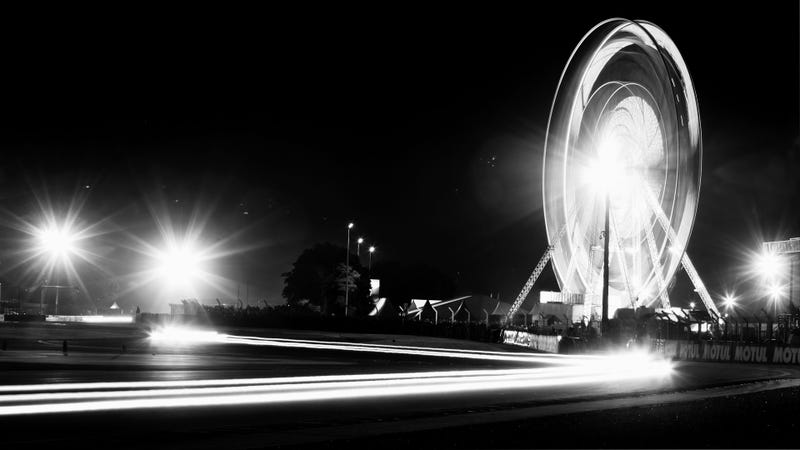 The 24 Hours Of Le Mans Looks Otherworldly In Black And White