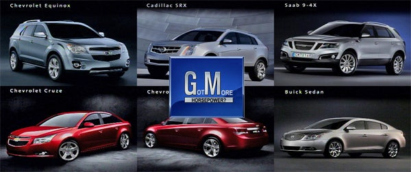 GM Buckles To Jalopnik Pressure, Reveals Slightly Less Grainy Images Of Upcoming Lineup
