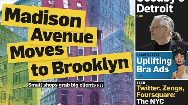 New Improved Adweek Debuts With Typo on the Cover