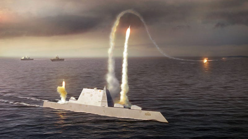 America's 21st Century Destroyer Set Sail For the First Time Saturday (UPDATED)