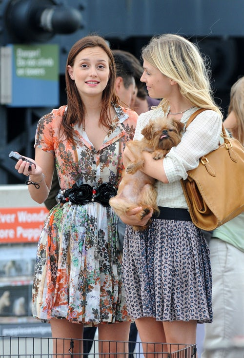 "Leighton Meester: ""Can't We Cast A Dog Who'll Stay Awake?"""