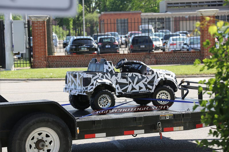Ford Is Not Messing Around With Their Power Wheels Prototype