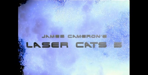 Laser Cats 5: James Cameron and Ripley and 3D Goggles, O Hai!
