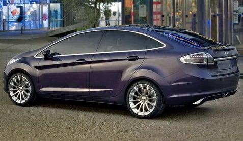 Guangzhou International Auto Show: Ford Reveals Verve Sedan Concept
